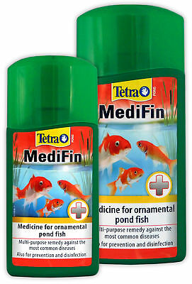 Tetra Medifin Garden Fish Pond Treatment Treats Disease Parasites Bacteria Koi