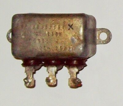 Recovered Aerovox Double 0.25Mfd 600VDC capacitor