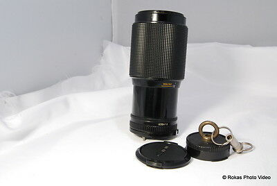 Canon 70-210mm f4 FD Lens constant aperture zoom f4.0 genuine made in Japan