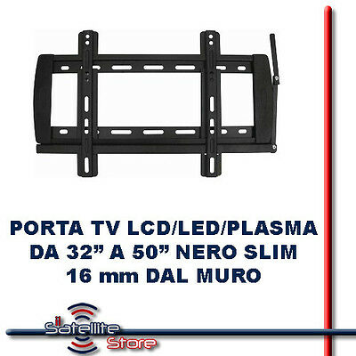 Supporto staffa porta tv parete inclinabile lcd led plasma - Supporto porta tv ...