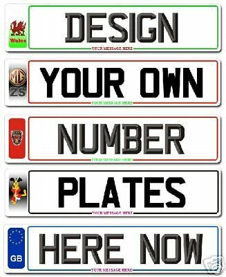 New Number plates For Your Private Plate Fast P&P