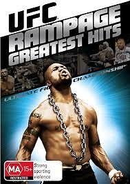 Ex Rental Ufc Rampage Greatest Hits Dvd The Iceman The Axe Murderer *guaranteed*