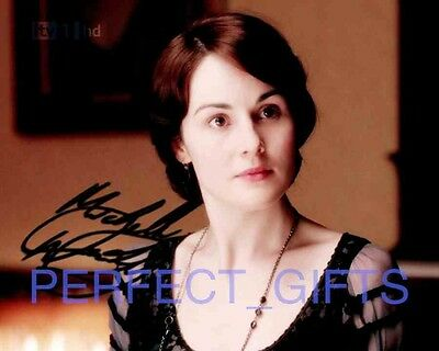 Michelle Dockery Lady Mary Downton Abbey Signed 10X8 Repro Pp Photo Print