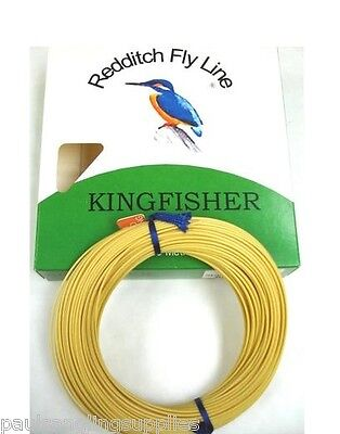 Willow Kingfisher Of Redditch Weight Forward Floating Fly Fishing Line 30m