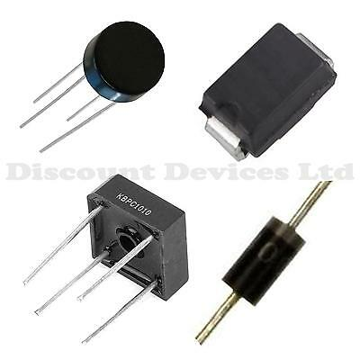 All Rectifier/Bridge/Small Signal Rectifier Diodes 1N4..; KBU6...; KBPC...; GBPC