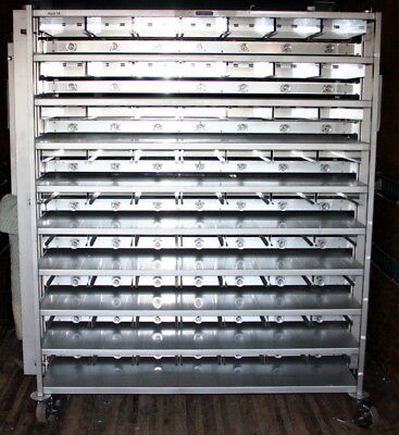 Lab Products Ss Ventilated Mouse Cage Racks, Water, Double Sided - Large Quan