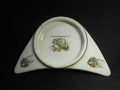 Vintage 1912 Underwoods High Chair Baby Plate Collectable! Little Miss Muffet!
