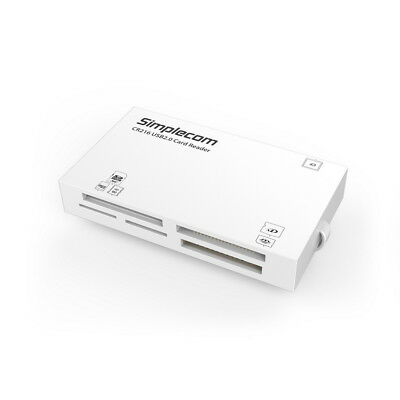 NEW USB 2.0 All in One Multi Memory Card Reader TF MS M2 CF XD Micro SD HC WHITE