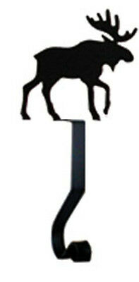 Village Wrought Iron Moose Mantle Hook 4 In. W x 9 1/2 In. H MH-A-19 New