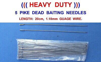 PREDATOR SYSTEM DEAD BAIT STICKS FOR PIKE DEADBAIT POP UP SNAP TACKLE WIRE TRACE