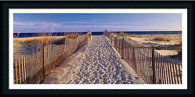 Pathway to the Beach by Joseph Sohm Ocean View 38x18 Framed Art Print Picture