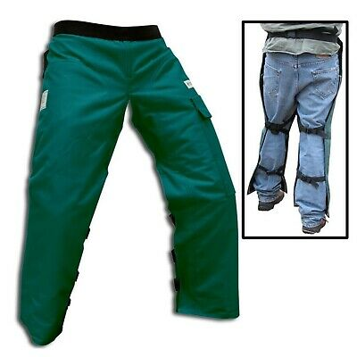 Chainsaw Safety Chaps - Protective Pants New Large 40""