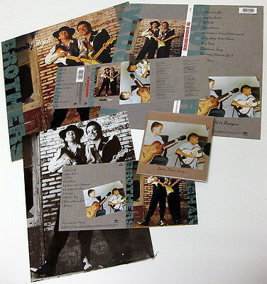 THE VAUGHAN BROTHERS US Promo Press Kit Pack STEVIE RAY