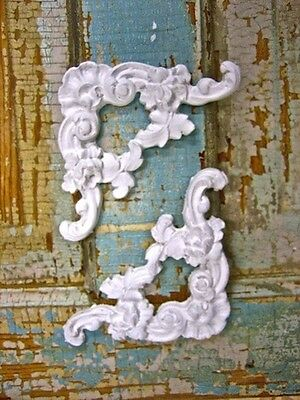 SHABBY n CHIC FURNITURE APPLIQUES * CORNERS * ONLAYS * RESIN & WOOD MOLDINGS