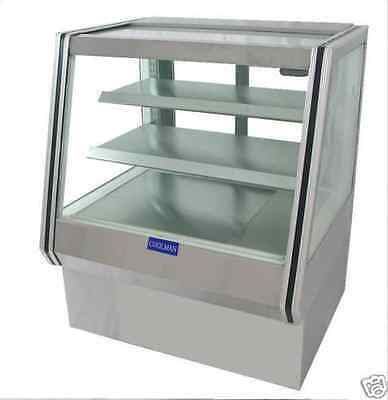 Coolman Commercial Dry (Non-Refrigerated) Counter Bakery Pastry Display Case 36""