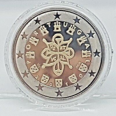 Portugal 2 Euros 2010 Proof