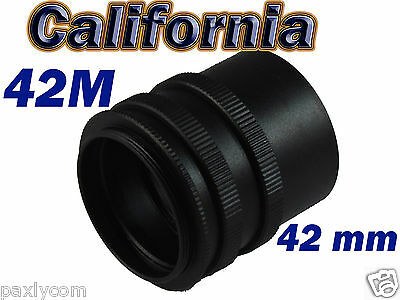Camrea Macro Extension Tube Ring for M42 42mm Screw Mount 3 Ring Adapter L8D