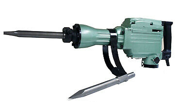 1500W DEMOLITION ELECTRIC JACK HAMMER 1500 Watt 1400BPM CONCRETE BREAKER +2 Bits