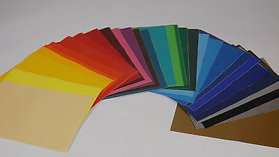 100 x A4 Sheets Of Self Adhesive Vinyl Any Colour Sign Making Vinyl Craft Robo