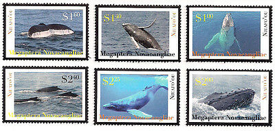 Niuafo'ou 2012 Whales Issue Set of Singles