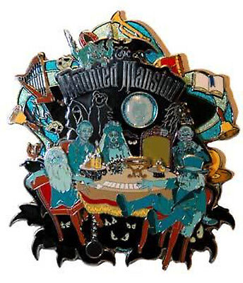 Disney WDW The Haunted Mansion Seance Circle Jumbo Pin Limited Edition 500