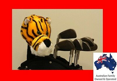 TIGER for Golf Wood / Hybrid Cover - Animal cover - FREE GIFT