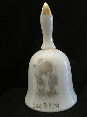 """Precious Moments """"Love Is Kind"""" Porcelain Bell"""