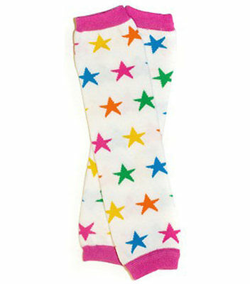 NEW Baby Toddler Girls Retro Stars Leg Warmers