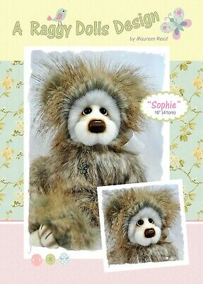 SOPHIE BEAR - Sewing Craft PATTERN - Artist Bear Pattern