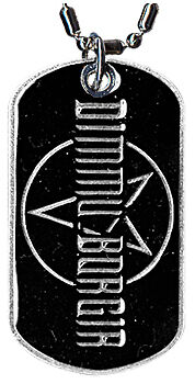 DIMMU BORGIR - Logo - DOG TAG - NEW
