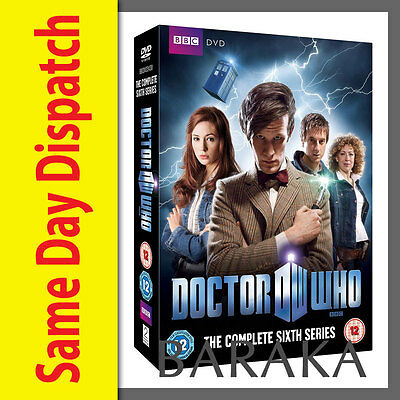 DOCTOR Dr WHO Complete 6th Series Season 6 Six DVD Box Set BBC New & Sealed