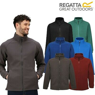 Regatta Mens Thor / Barricade Full Zip Anti Pill Fleece Workwear Jacket TRF532