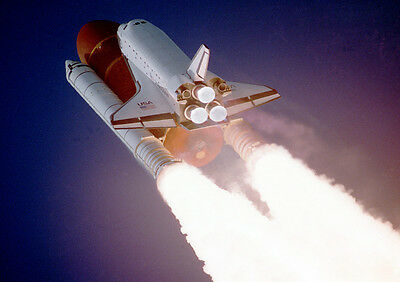 A4 Poster Print NASA Space Shuttle Discovery A3