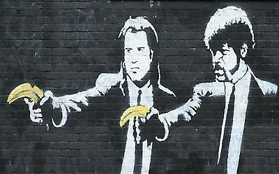 Poster Print - Banksy: Pulp Fiction A3 / A4