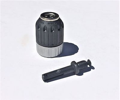 Drill Chuck Keyless 13mm with SDS Plus Adapter