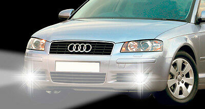 Passgenaue Tagfahrlichter Audi A3 (8P+8PA) Licht Tagesfahrleuchte TFL NSW Hell
