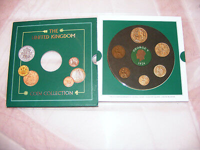 George  V   c1924  Coin  Collection  In  Presentation  Pack  Crown, Florin, etc