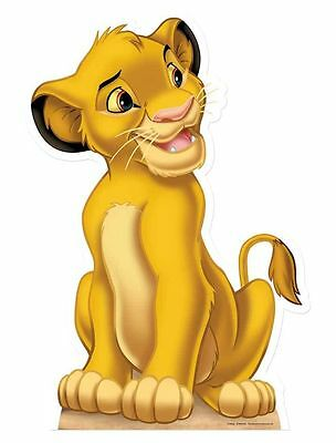 SIMBA Disney Lion King cub LIFESIZE party CARDBOARD CUTOUT STANDEE STANDUP