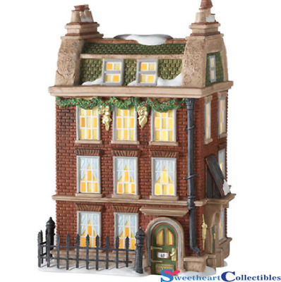 Dept 56 Dickens Village 48 Doughty St. Home of Dickens Retired 805521