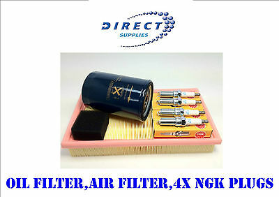 Service Kit Ford Focus 98-04  1.4 1.6 1.8 Air Oil Ngk Plugs