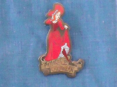 Redhead Red Haired Lady Wench Pirates Event Gift 2003 Le Rare Disney Pin