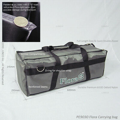 Thick Padded Carrying Bag/Case For Flora Light Bank Photography 51011
