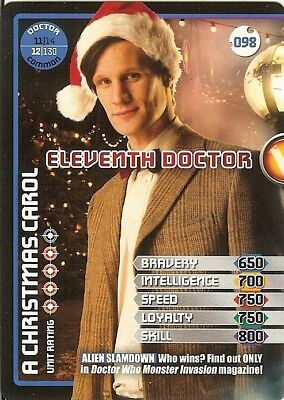 Dr Who Monster Invasion - 098 Eleventh Doctor