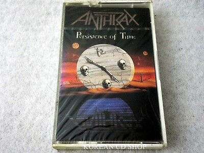 Anthrax Persistence Of Tim  Cassettes TAPE (1991) *SEALED*
