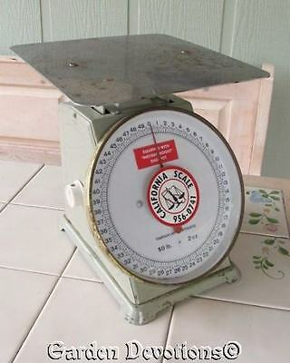 Jade Green VINTAGE 50 LB. SCALE Metro Equipment Corporation Sunnyvale California