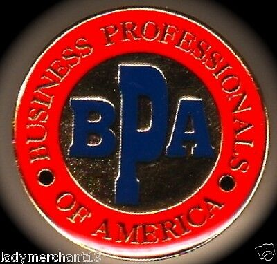"""BPA BUSINESS PROFESSIONALS OF AMERICA"" Enamel Lapel Pins/Lot of 25/ALL NEW!"