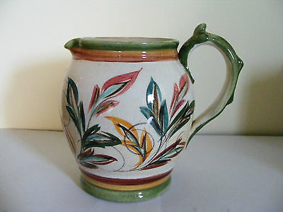 """Denby  1950's  Jug  Designed  And  Signed  On  Base By  Glyn  Colledge Ht 4.3/4"""""""