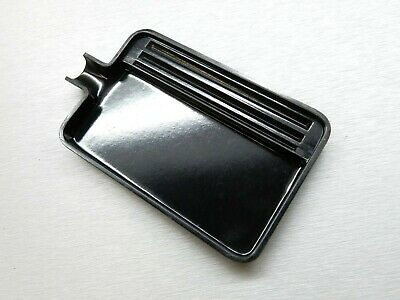 Tray Plastic For Diamonds & Gemstones Sorting Tray Black Plastic With Spout