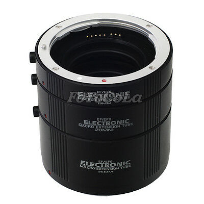Automatic AF macro extension tube set 13mm 20mm 36mm DG for Canon EF EF-S Kenko