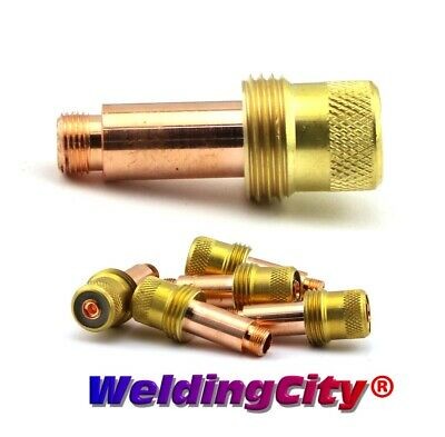"5-pk TIG Welding Gas Lens Collet Body 45V27 1/8"" Torch 17/18/26 